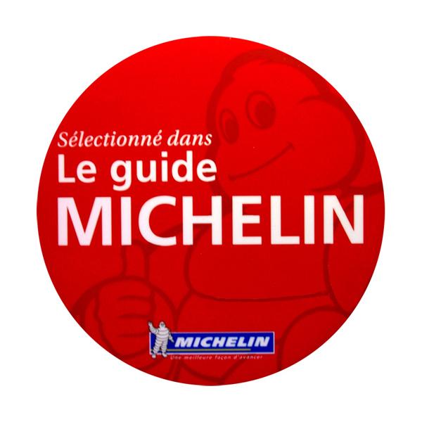 empfohlen vom Guide Michelin