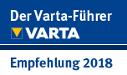 empfohlen vom Varta-Guide